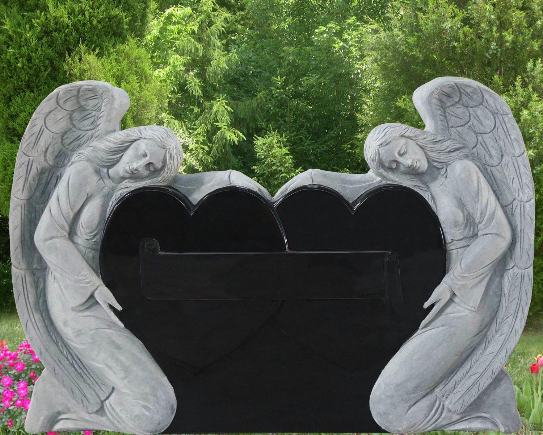 EG-16-271-917 / Jet Black / Double Kneeling Angel