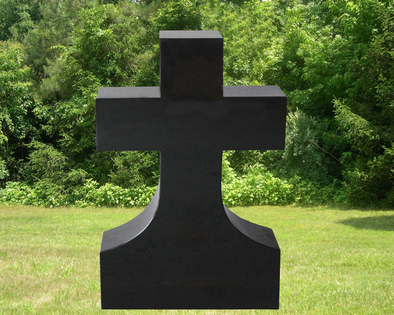 EG-16-308-429 / Jet Black / Latin Cross Memorial