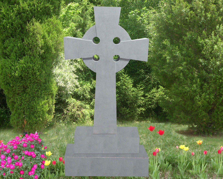 EG-16-58-916 / Fine Gray / Celtic Cross Memorial
