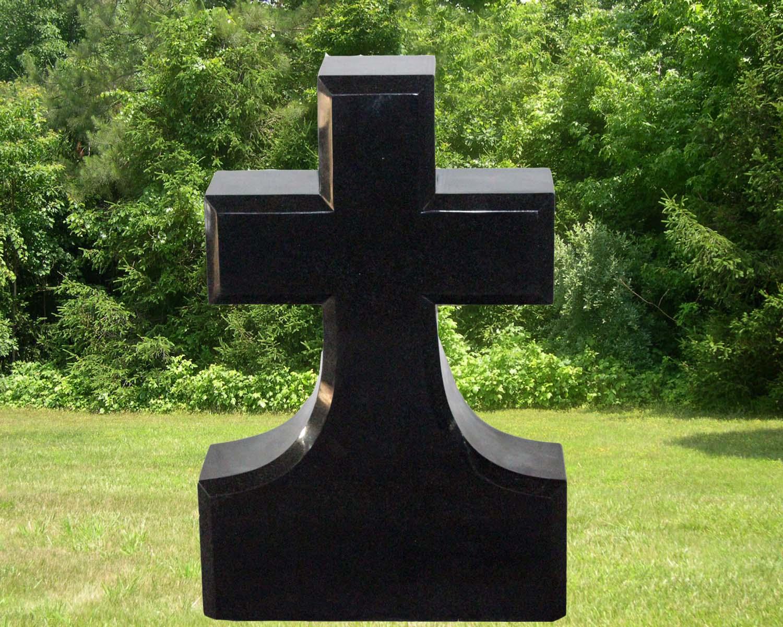 EG-16-65-423 / Jet Black / Cross Die with Beveled Edges