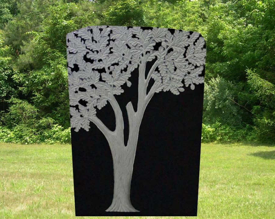 EG-12-88-901 / Jet Black / Tree Memorial