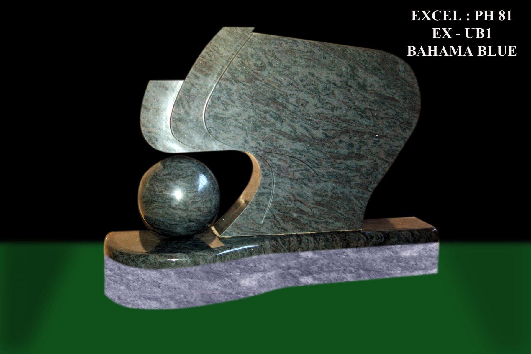 EG-81 / Bahama Blue / Ball on Left Design