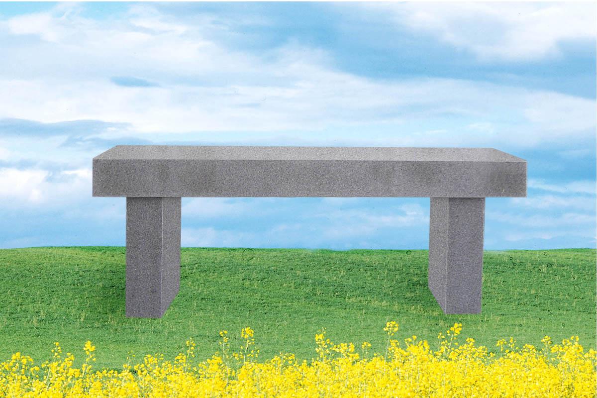 EG-16-917-41 / Fine Gray / Straight Leg Bench