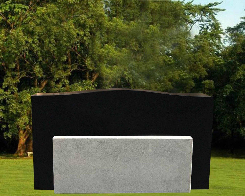 EG-17-197-612 / Black & Gray / Die with Bottom Cremation Unit