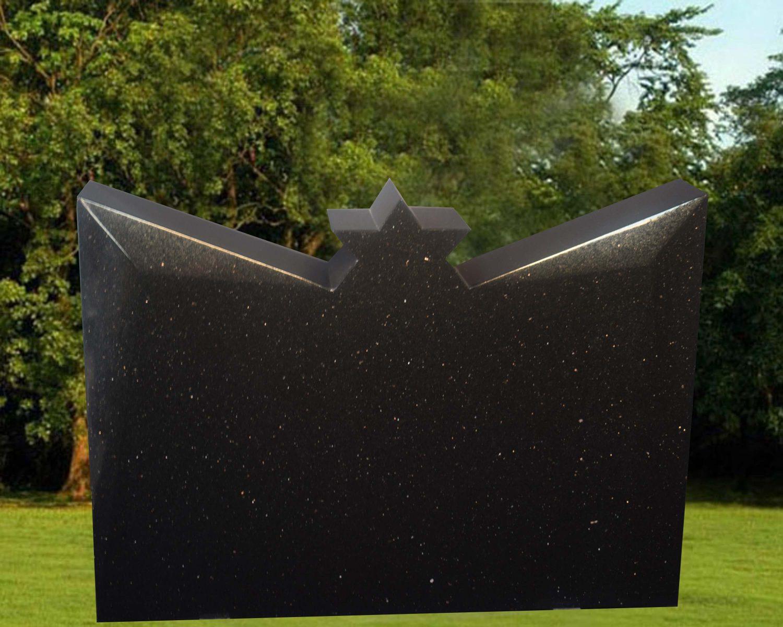 EG-18-114 / Black Galaxy / Star on Top & Beveled Cuts Design