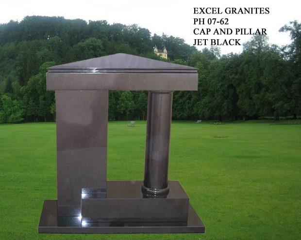 EG-07-62 / Jet Black / Apex Cap, Panel & Column Design